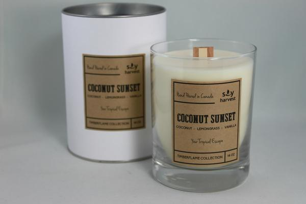 Soy Harvest Candles - Coconut Sunset