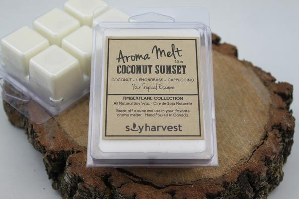 Soy Harvest Candles - Coconut Sunset - Melters