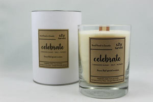 Soy Harvest Candles - Celebrate - Timberflame