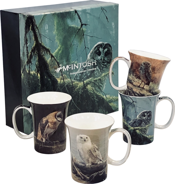 McIntosh China - Robert Bateman - Set of 4 -