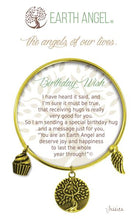 "Load image into Gallery viewer, Earth Angel Bracelet - ""Birthday Wish"""