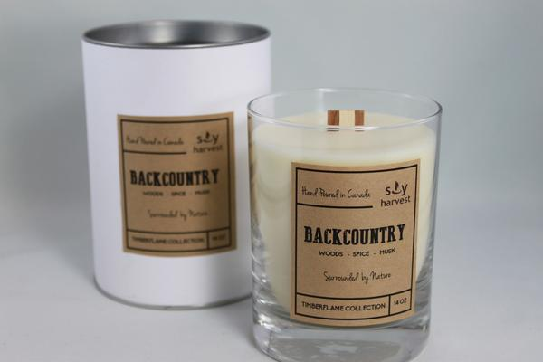 Soy Harvest Candles - Back Country - Timberflame