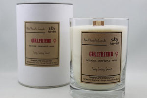 Soy Harvest Candles - Girlfriend - Timber Flame