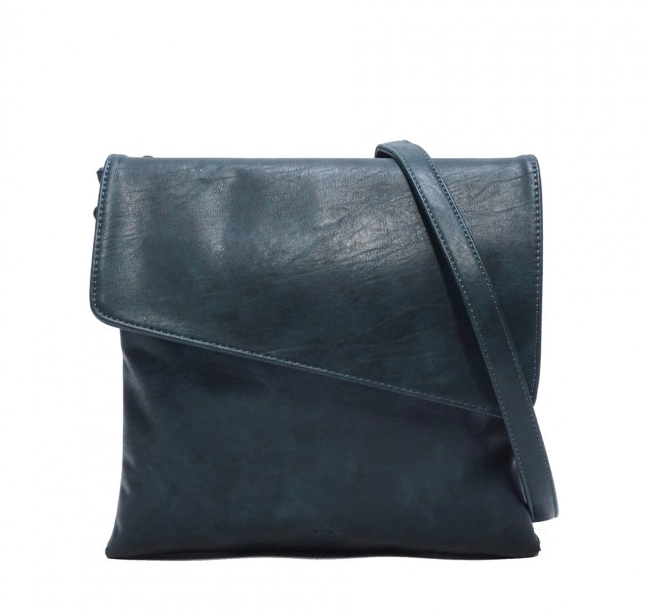 SQ Vegan Luna Crossbody - Deep Sea