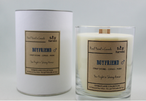 Soy Harvest Candles - Boyfriend - Timber Flame