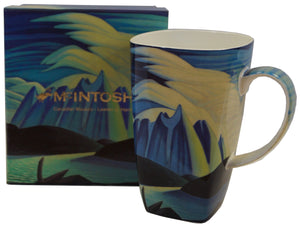 Mcintosh - Lawren Harris - Lake and Mountains - Grande Mug