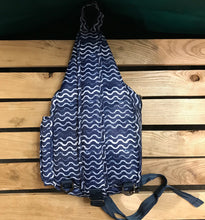 Load image into Gallery viewer, Lug Bag - Archer - Waves, Navy