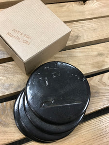 Pottery - Sleeping Giant Coasters