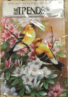 Garden Flag - Gold Finches on Apple Blossoms