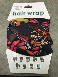 Hair Wrap - Butterflies