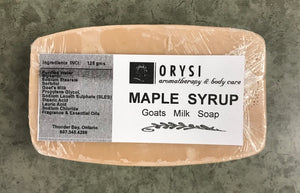 Orysi - Goat's Milk Soap - Maple Syrup