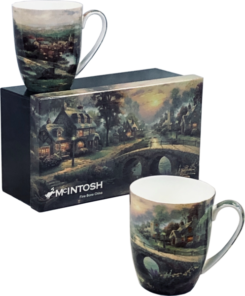 McIntosh China - Thomas Kinkade - Set of 2 -