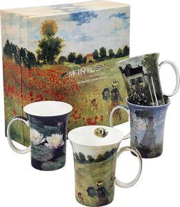 McIntosh China - Monet - Set of 4