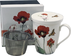 Mcintosh - Poppies - Tea Mug