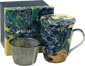 "McIntosh China - Van Gogh - Tea Mug - ""Irises"""
