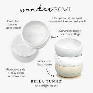 "Baby - Bella Tunno Wonder Bowl - ""Every Meal is a Happy Meal"""