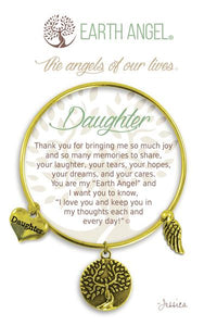 "Earth Angel Bracelet - ""Daughter"""
