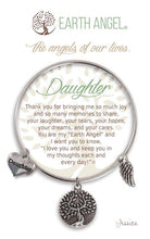 "Load image into Gallery viewer, Earth Angel Bracelet - ""Daughter"""