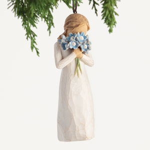 Willow Tree Ornament - Forget Me Not