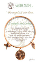 "Load image into Gallery viewer, Earth Angel Bracelet - ""Dragonflies and Destiny"""