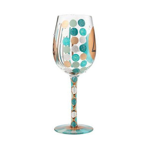 "Lolita Wine Glass - ""40th Birthday"""