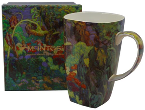 "McIntosh China - J. E. H. MacDonald - Grande Mug - ""Tangled Garden"""