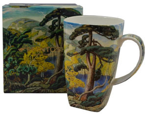 "McIntosh China - Arthur Lismer - Grande Mug - ""Bright Land"""