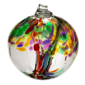 "Kitras Art Glass - Tree of Life - 6"" diameter"