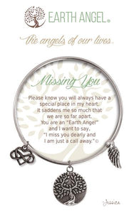 "Earth Angel Bracelet - ""Missing You"""