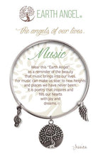 "Load image into Gallery viewer, Earth Angel Bracelet - ""Music"""