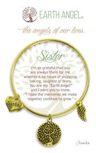 "Load image into Gallery viewer, Earth Angel Bracelet - ""Sister"""