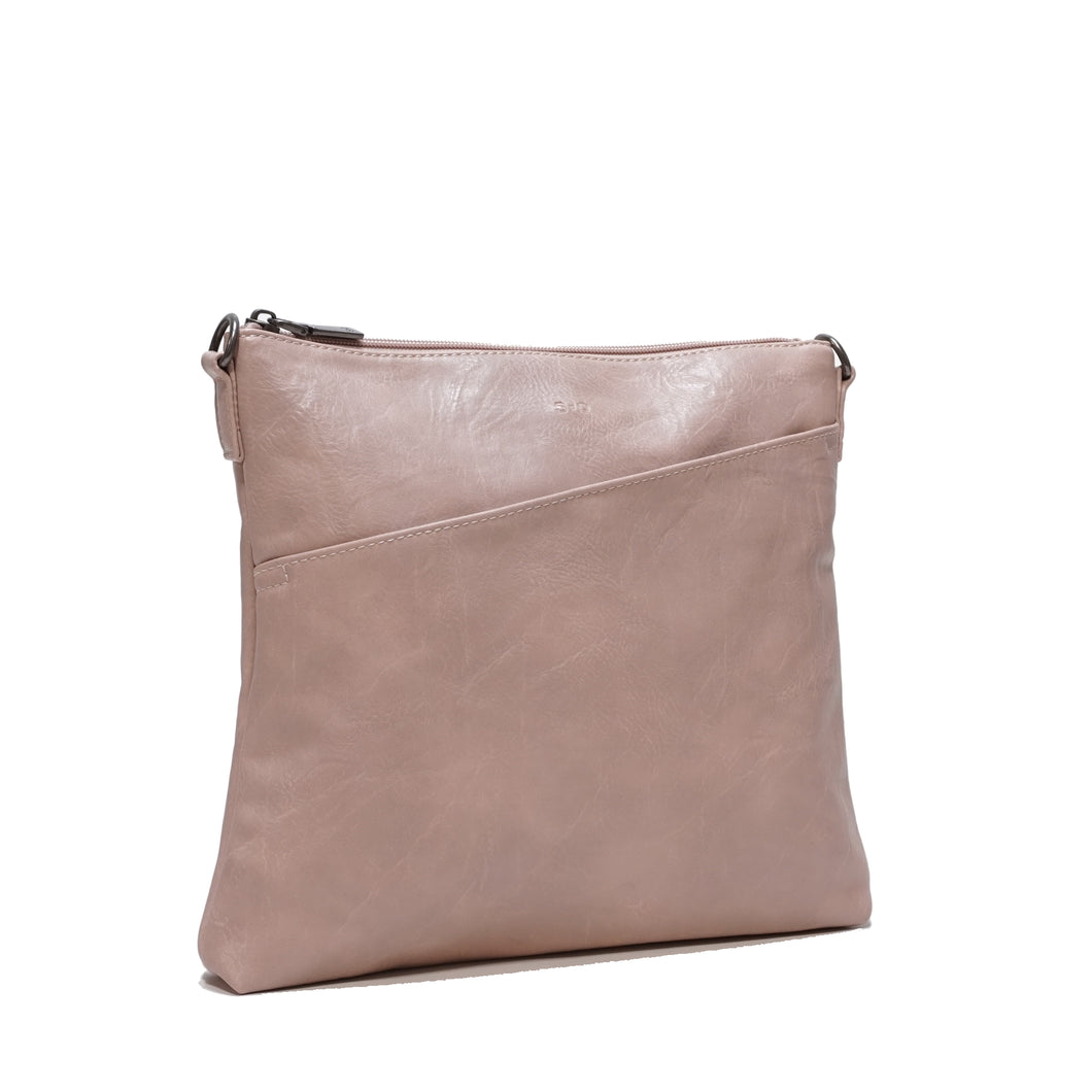 SQ Vegan Leather Hand Bag - Summer and Petal Pink