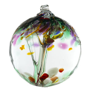 "Kitras Art Glass - Tree of Remembrance - 6"" Diameter"
