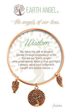 "Load image into Gallery viewer, Earth Angel Bracelet - ""Wisdom"""
