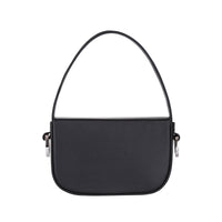 Women's Black Leather Handbag - kozhuhar