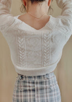 Load image into Gallery viewer, The Cozy Knit Cardigan in Cream
