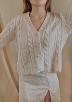 Load image into Gallery viewer, June Cardigan in Cream (Backorder)