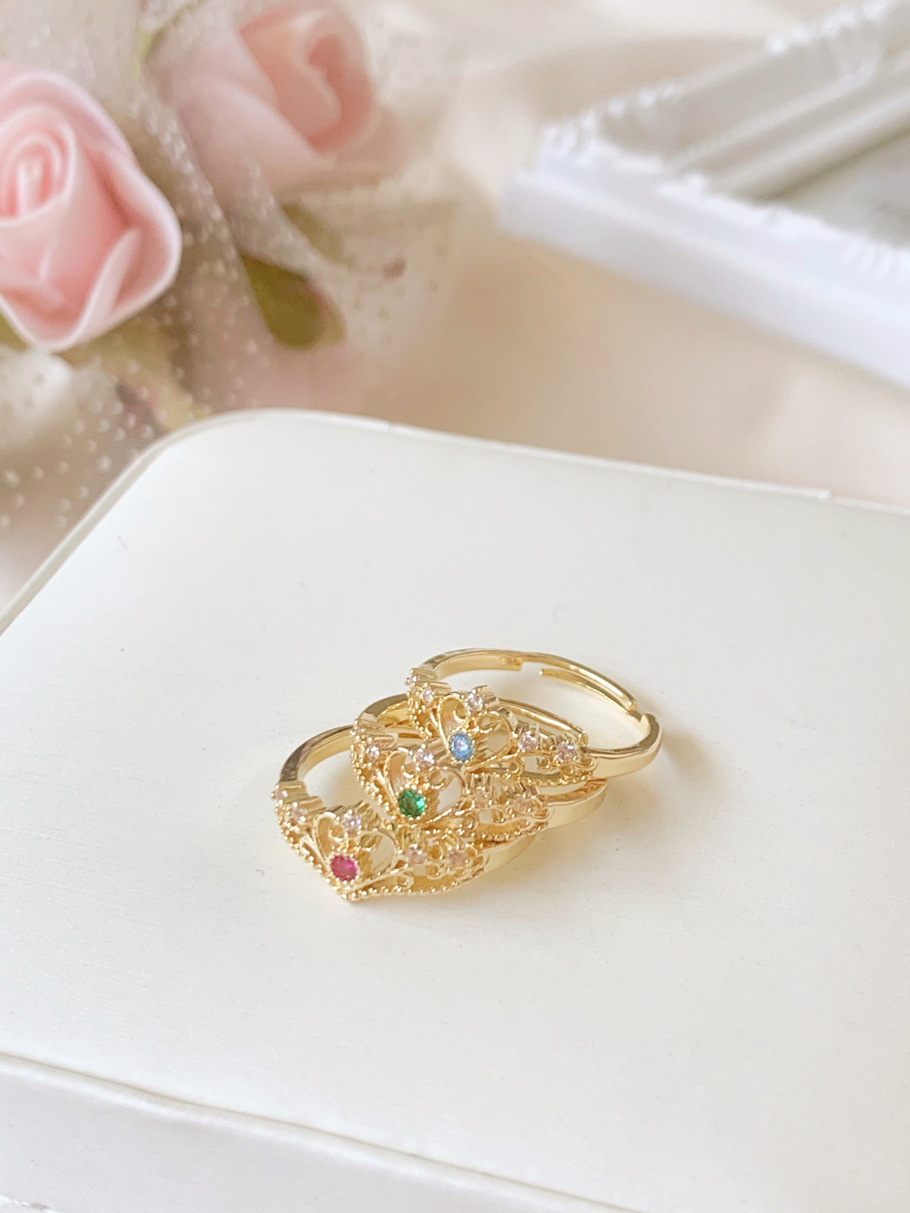 Brilliance Ring (18K Gold-Plated)
