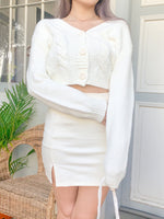 Load image into Gallery viewer, My Favorite Knit Cardigan in White
