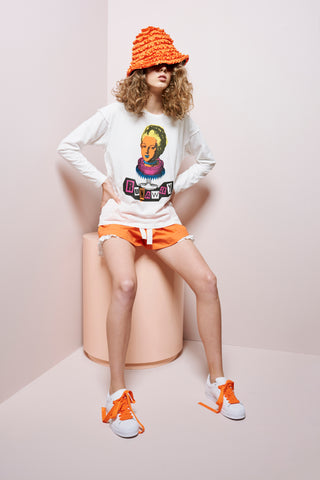 Karen Walker Eat Cake Long Sleeve Tee