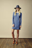 Ryder Berty Rib Dress Blue