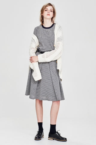 Sylvester by Kate Sylvester Preppy Knit Skirt