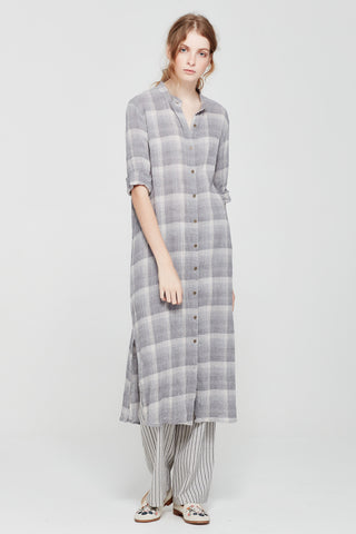 Sylvester by Kate Sylvester Checked Shirt Dress