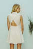 Ryder Whitney Dress White