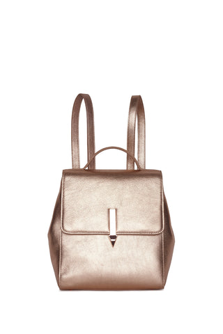 Karen Walker Mini Arrow Backpack Rose Gold