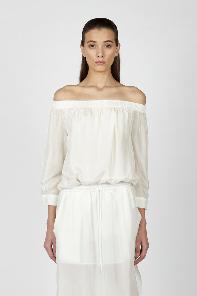Hansen and Gretel Kate Top White