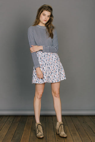 Ryder Annabelle Printed Skirt Wildflower