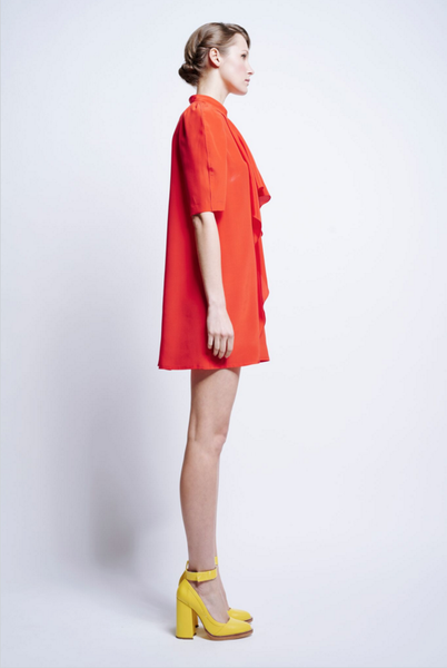 Karen Walker Zurs Ruffle Dress