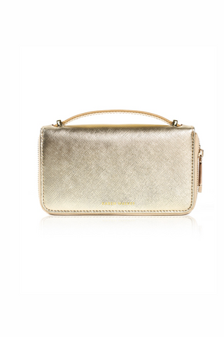 Karen Walker Dana Wallet - Gold