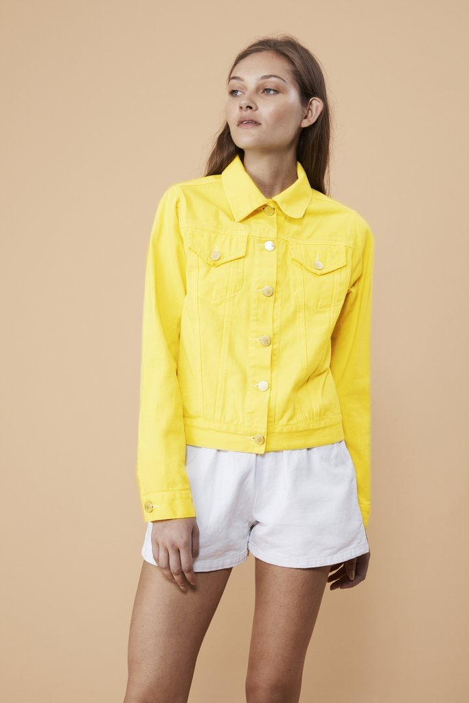 Vale Denim Earth Layers Jacket Lemon